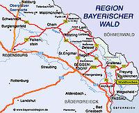 Urlaubsregion Bayerischer Wald